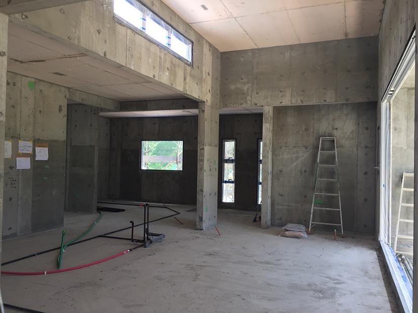 住宅工事現場2